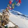 Sundání pytle na Mont Blancu - splitboardem